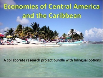 Economies of Central America and the Caribbean Research Project Bundle