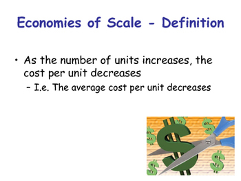 internal and external economies and diseconomies of scale