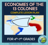 Economies of the 13 Colonies (for 4th to 7th Graders)