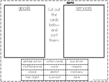 Economy Activities (Wants, Needs, Goods, Services, Consumers and Producers)