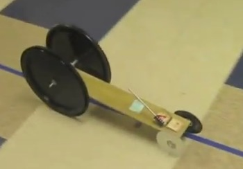 Economy Based Mousetrap Car Project