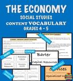 ECONOMY  Content Vocabulary - Social Studies Grade 4 - 5 I HAVE WHO HAS?