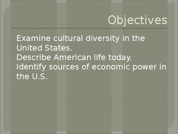 Economy, Culture, and Super Power!