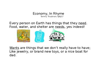 Economy In Rhyme