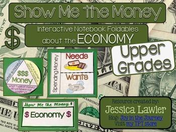 Economy Interactive Notebook Foldables UPPER GRADES