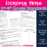 Economy Menu: Assessing 3rd-5th Grade Economy Standards