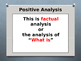 Economy: Positive vs Normative