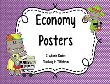Economy Posters
