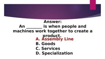Economy PowerPoint Game