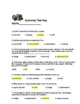 Economy Test