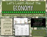 Economy Vocabulary Activities