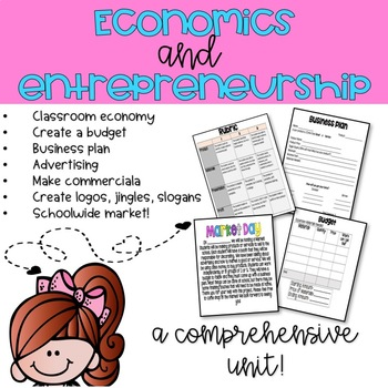 Economy and Entrepreneurship (for Upper Grades!)