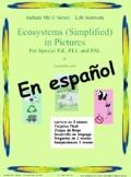 Ecosistemas -simplificado en imágenes para estudiantes de