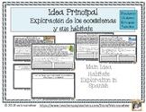 Ecosistemas y su hábitat - Idea Principal y Detalles -Main Idea Hábitats Spanish