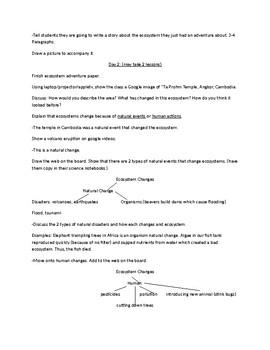 Ecosystem (12 Lessons) Unit