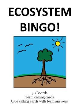 Ecosystem BINGO!