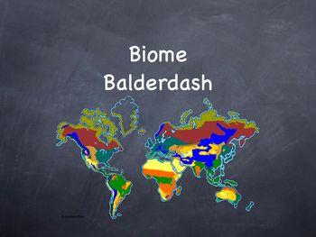 Ecosystem Balderdash Keynotes version