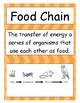 Ecosystem / Biome Vocabulary Charts