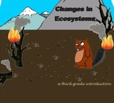 Ecosystem Changes - A Third Grade Smartboard Introduction