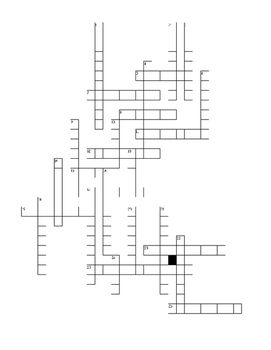 Ecosystem Crossword