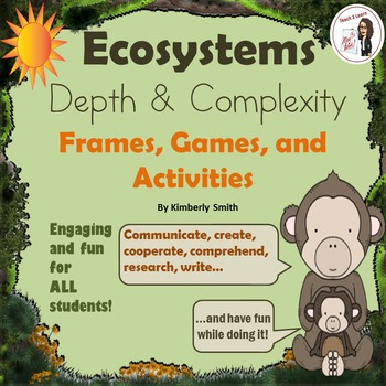 Ecosystem Depth and Complexity Frames, Games, and Activities