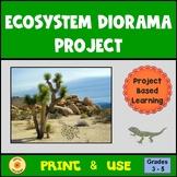 Ecosystem Project Diorama