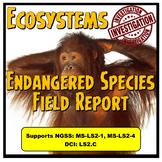 Ecosystem Endangered Species Field Report