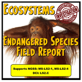 Ecosystem Endangered Species Field Report