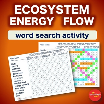 Ecosystem Energy Flow * WordSearch * Warm Up * Bell Ringer * Vocabulary