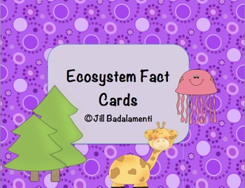 Ecosystem Fact Cards