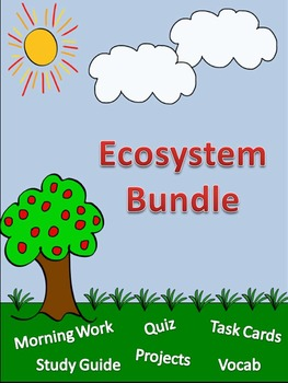 Ecosystem/Food Chain Bundle