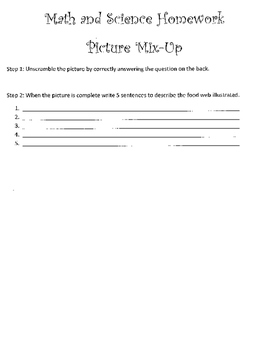 Ecosystem Homework Review