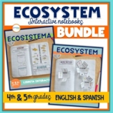 Ecosystem Interactive Notebook English & Spanish Versions Bundle