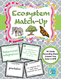 Ecosystem Matching Activity Game