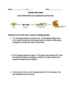 Ecosystem Math