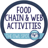 Food Chain and Food Web Activities for Ecosystems and Biomes