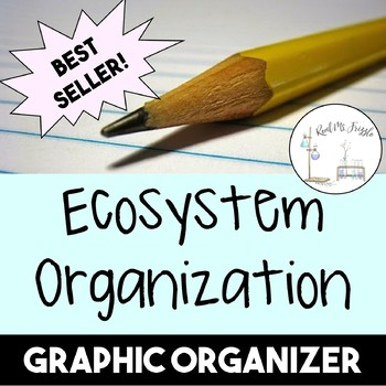 ecosystem organization graphic organizer by real ms frizzle tpt. Black Bedroom Furniture Sets. Home Design Ideas