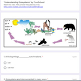 Ecosystem Parts (producers, consumers, decomposers) Google