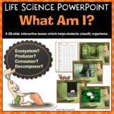 Ecosystem Powerpoint Producer, Consumer, or Decomposer? + Response Worksheet