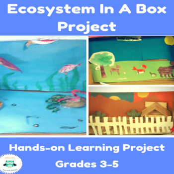 Ecosystem Projects & Worksheets | Teachers Pay Teachers