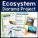 Ecosystem Project: Decorate a Shoebox Diorama: Perfect for ANY Ecosystem!