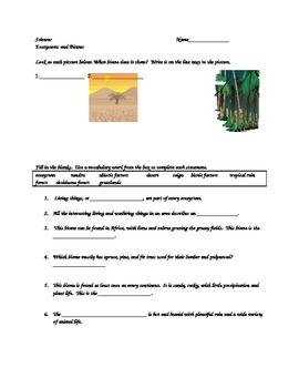Ecosystem Quiz