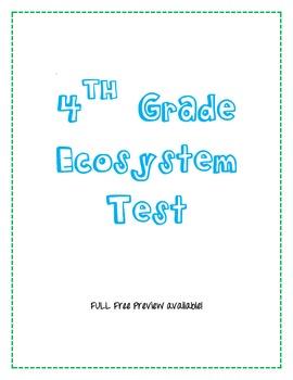 Ecosystem Quiz/Test