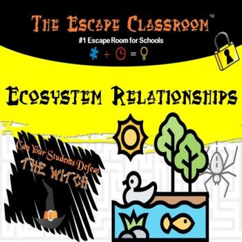 Ecosystem Relationships Escape Room |