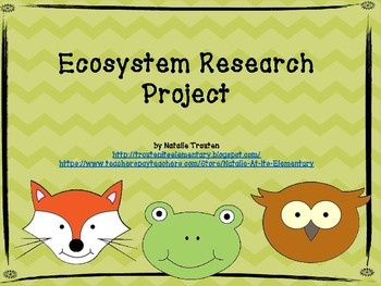 Ecosystem Research Project