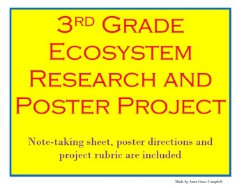 Ecosystem Research Report Poster