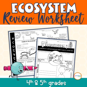 Ecosystem Review Worksheet