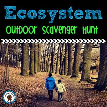 Ecosystem Scavenger Hunt for Outdoors