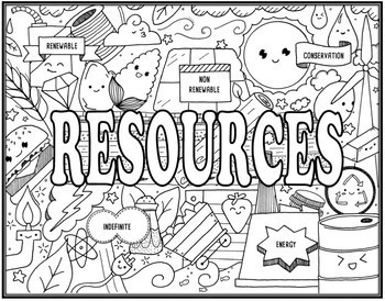Ecosystem Seek & Find Doodle Pages Bundle