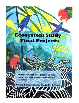 Ecosystem Study - Final Projects